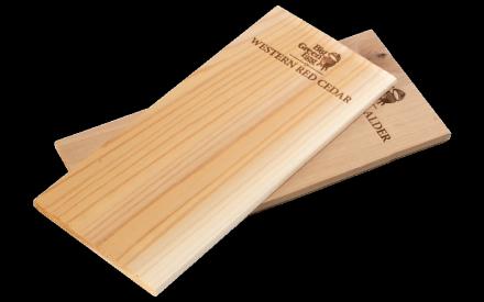 Grillplanken aus Holz Erle