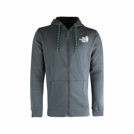 "Hoodie ""Big Green Egg"" with Zipper"