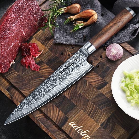 Damast Küchenmesser 20cm